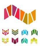 Elemento do logotipo da seta do projeto. ilustração stock