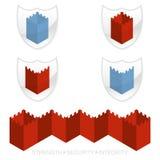 Elemento do logotipo do vetor Fotografia de Stock Royalty Free