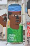 Elemento do muro de Berlim Fotografia de Stock