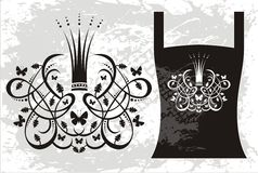 Elemento do ornamento Fotografia de Stock Royalty Free