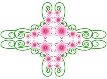 Elemento do ornamento floral Ilustração Stock