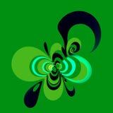 Elemento do projeto Composição abstrata Imagem da cor Imagem do ícone símbolo do sinal Fundo da arte de Digitas Logotipo do compu ilustração do vetor