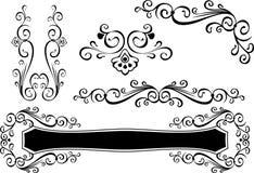 Elemento do projeto da decoração Fotografia de Stock Royalty Free