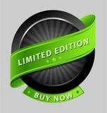 Elemento do projeto da edição limitada Imagens de Stock Royalty Free