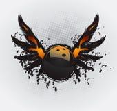 Elemento do projeto da esfera de bowling ilustração royalty free