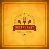 Elemento do projeto da loja do restaurante Imagem de Stock