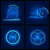Elemento do projeto da tecnologia Fotografia de Stock
