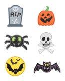 Elemento do projeto de Halloween Imagem de Stock