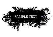 Elemento do projeto do estilo de Grunge ilustração stock