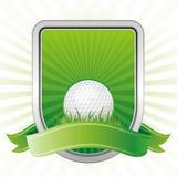 elemento do projeto do golfe Imagens de Stock Royalty Free
