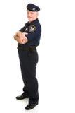 Elemento do projeto do oficial de polícia Fotos de Stock Royalty Free