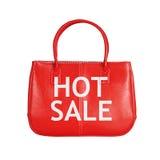 Elemento do projeto do saco da venda isolado no branco foto de stock royalty free