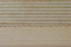 Elemento do projeto - página velha do álbum fotografia de stock