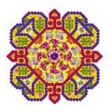 Elemento do tapete persa - Diamond Amulet imagem de stock royalty free