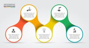 Elemento do vetor para infographic Foto de Stock Royalty Free