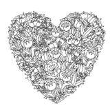 Elemento do zentangle do desenho da mão Rebecca 36 Mandala da flor ilustração do vetor