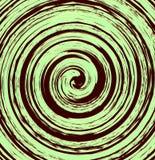 Elemento espiral abstrato na forma irregular, aleatória geométrico ilustração do vetor