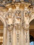 Elemento europeu velho da arquitetura Fotos de Stock Royalty Free