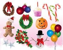 Elemento festivo Imagen de archivo