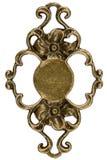 Elemento filigrana, decorativo para o trabalho manual, isolado no branco, Imagem de Stock Royalty Free