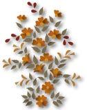 Elemento floral Fotos de archivo