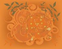 Elemento floral Imagen de archivo libre de regalías