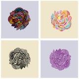 Elemento floral Fotografía de archivo libre de regalías