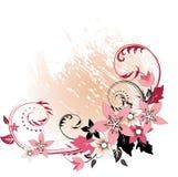 Elemento floral abstracto para el diseño Fotos de archivo