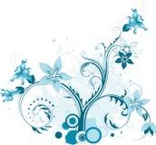 Elemento floral abstracto para el diseño Fotos de archivo libres de regalías