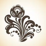 Elemento floral decorativo para o projeto Imagem de Stock Royalty Free