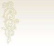 Elemento floral do fundo do projeto Imagem de Stock Royalty Free