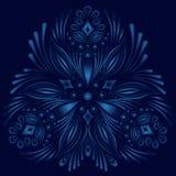 Elemento floral ornamental del vector Estilo de la vendimia Fotos de archivo libres de regalías