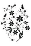 Elemento floral para el diseño Foto de archivo libre de regalías