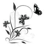 Elemento floral para su diseño Imagen de archivo