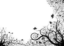 Elemento floreale per il disegno, vettore Fotografia Stock Libera da Diritti