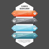 Elemento G de Infographic Fotos de Stock