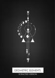 Elemento geométrico de alta qualidade Imagens de Stock Royalty Free