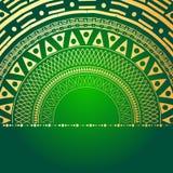 Elemento geométrico de la mandala hecho adentro Elementos decorativos de la vendimia Fondo de la acuarela Islam, árabe, indio, ad Fotos de archivo