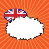 Elemento geométrico Reino Unido Reino Unido F do fundo abstrato moderno vazio liso do espaço da cópia do conceito da ilustração d ilustração stock
