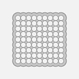 Elemento geometrico astratto Immagini Stock Libere da Diritti