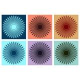 Elemento gráfico abstrato Foto de Stock