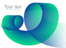 Elemento grafico per progettazione Fondo Curva di pendenza di miscela Immagini Stock Libere da Diritti