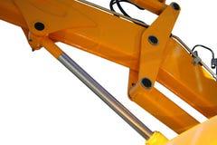 Elemento idraulico di un trattore Fotografie Stock