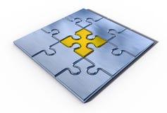 Elemento importante del puzzle Fotografie Stock