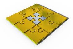 Elemento importante del puzzle Immagini Stock