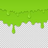 Elemento inconsútil líquido pegajoso verde libre illustration