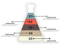 Elemento infographic creativo per l'affare Fotografie Stock