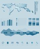Elemento infographic del asunto Imagen de archivo