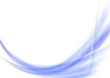 Elemento liso da onda do fundo abstrato Imagens de Stock
