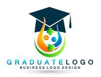 Elemento médico del icono del soltero de la alta educación de los graduados de los estudiantes del logotipo de la graduación acer libre illustration